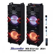 تال اسپیکر مکسیدر maxeeder-MX-ES2122-JK01 اسپیکر ایستاده با میکروفون