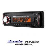 Maxeeder MX-DL2725BT رادیو پخش دکلس بلوتوث دار خودرو مکسیدر