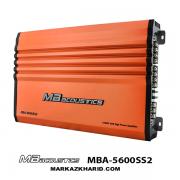 MB acoustics MBA-5600SS2 آمپلی چهار کانال