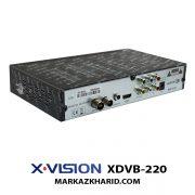 X.VISION XDVB 220 گیرنده دیجیتال خانگی ایکس ویژن
