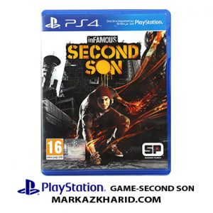 Playstation GAME SECOND SON بازی پلی استیشن ۴ سکوند سون
