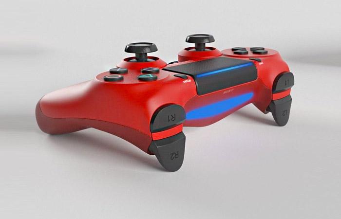 دسته قرمز PS4