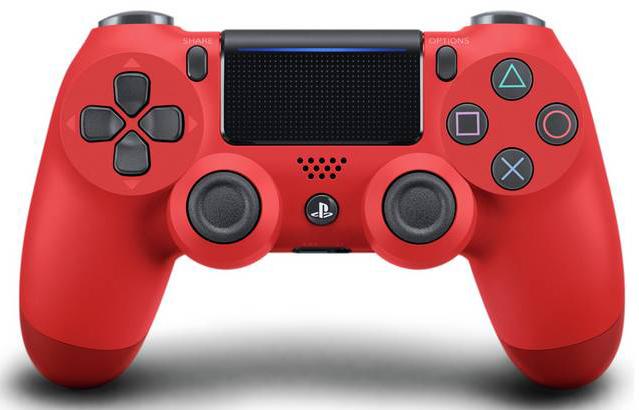 playstation 4 dualshock red controller دسته بازی پلی استیشن ۴ قرمز دوال شوک سفارش آمریکا