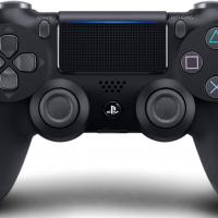 playstation 4 dualshock black controller دسته بازی پلی استیشن ۴ مشکی دوال شوک پک کوتاه