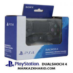 playstation 4 dualshock black controller دسته بازی پلی استیشن ۴ مشکی دوال شوک