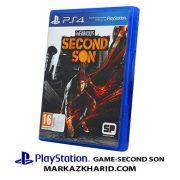 Playstation GAME SECOND SON بازی پلی استیشن ۴ سکند سان
