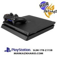 پلی استیشن ۴ اسلیم ۱ ترابایت ریجن ۱ کپی خور Playstation 4 Slim R1 1T 2115B HDR
