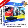 پلی استیشن ۴ اسلیم ۵۰۰ گیگبایت ریجن ۲ با بازی کپی خور 12 ماه خدمات Playstation 4 slim R2 500G 2116A HDR