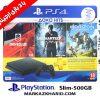 پلی استیشن ۴ اسلیم ۵۰۰ گیگبایت ریجن ۲ با بازی 18 ماه طلایی Playstation 4 slim R2 500G 2116A