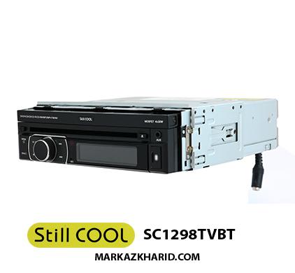 رادیو پخش ایندش بلوتوث دار خودرو استیل کول Still Cool SC1298TVBT