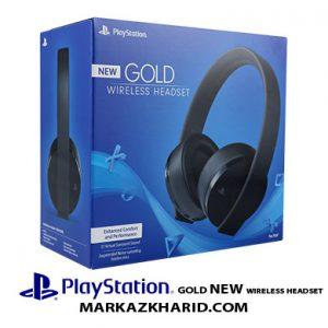 هدست جدید وایرلس گلد پلی استیشن Sony PlayStation Gold Wireless Headset New