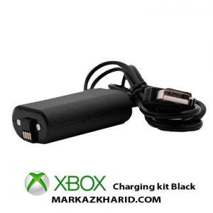 باطری قابل شارژ در حین بازی دسته ایکس باکس وان مشکی XBox One Controller Dobe charge and play kit black
