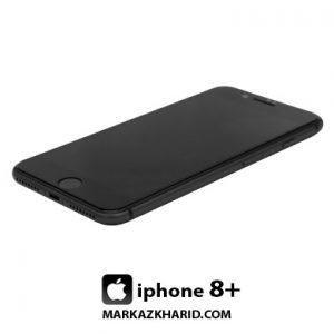 گوشی موبایل آیفون 8 پلاس 64 گیگابایت مشکی Apple Iphone 8 Plus 64GB Black