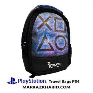 کیف مسافرتی پلی استیشن ۴ اسلیم و پرو و فت طرح پلی استیشن Playstation 4 Pro and Slim And Fat IGamer Travel Bag PS4