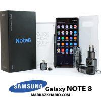 گوشی موبایل نوت ۸ سامسونگ ۶۴ گیگابایت مشکی Samsung Galaxy Note 8 64GB Black