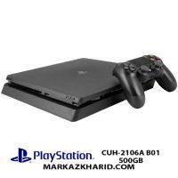 کنسول بازی پلی استیشن ۴ اسلیم ۵۰۰ گیگابایت ریجن ۳ Playstation 4 Slim R3 500GB 2106A
