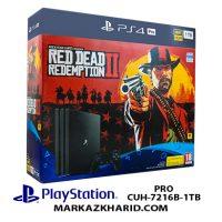 کنسول بازی پلی استیشن ۴ پرو ۱ ترابایت ۷۲۱۶B ریجن ۲ Playstation 4 PRO R2 1TB 7216B