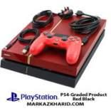 کنسول بازی پلی استیشن ۴ فت ۵۰۰ گیگابایت ۱۲۱۶B مشکی قرمز Playstation 4 Fat 500GB 1216B Red Black