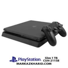 کنسول بازی پلی استیشن ۴ اسلیم 1 ترابایت 2115B ریجن 1 Playstation 4 Slim R2 1T 2115B