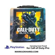 کیف ضدضربه پلی استیشن ۴ پرو طرح بازی کال آو دیوتی بلک آپس PlayStation 4 PRO Hard Case Travel Bag Call of Duty Black Ops 4