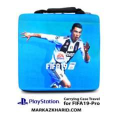 کیف ضدضربه پلی استیشن ۴ پرو طرح بازی فیفا ۱۹ PlayStation 4 PRO Hard Case Travel Bag Fifa 2019
