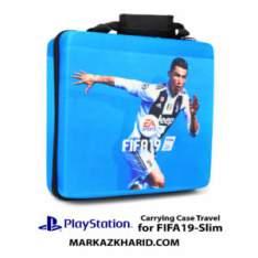 کیف ضدضربه پلی استیشن ۴ اسلیم طرح بازی فیفا ۱۹ PlayStation 4 Slim Hard Case Travel Bag Fifa 2019