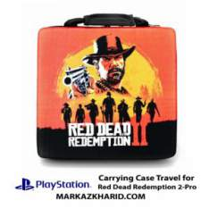 کیف ضدضربه پلی استیشن ۴ پرو طرح بازی رد دد ردمپشن PlayStation 4 PRO Hard Case Travel Bag Red Dead Redemption 2کیف ضدضربه پلی استیشن ۴ پرو طرح بازی رد دد ردمپشن PlayStation 4 PRO Hard Case Travel Bag Red Dead Redemption 2