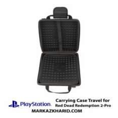 کیف ضدضربه پلی استیشن ۴ پرو طرح بازی رد دد ردمپشن PlayStation 4 PRO Hard Case Travel Bag Red Dead Redemption 2