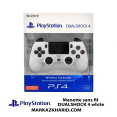 دسته پلی استیشن ۴ سفید Playstation 4 DualShock 4 Wireless Controller White
