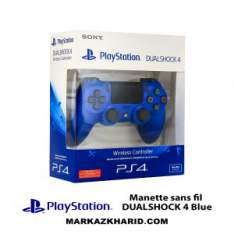 دسته بازی پلی استیشن ۴ آبی Playstation 4 DualShock 4 Wireless Controller Blue