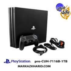 کنسول بازی پلی استیشن ۴ پرو ۱ ترابایت 7116B ریجن 2 بدون بازی Playstation 4 PRO R2 1TB 7116B Red Dead Redemption 2 Pack