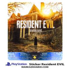 Playstation 4 Console and Controller Skin Sticker Resident EVIL برچسب پلی استیشن ۴ طرح رزیدنت اویل