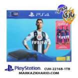 Playstation 4 Slim R2 1TB 2216B Fifa 19 Pack کنسول بازی پلی استیشن ۴ اسلیم ۱ ترابایت ۲۲۱۶B ریجن ۲ بدون بازی فیفا 19