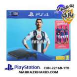 Playstation 4 Slim R2 1TB 2216B Fifa 19 Pack کنسول بازی پلی استیشن ۴ اسلیم ۱ ترابایت ۲۲۱۶B ریجن ۲ با بازی اورجینال فیفا ۱۹