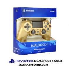 دسته بازی پلی استیشن ۴ طلایی Playstation 4 DualShock 4 Wireless Controller Gold