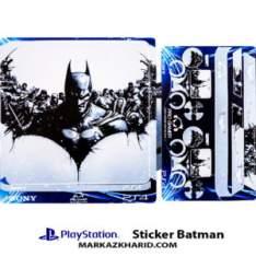Playstation 4 Console and Controller Skin Sticker Batman برچسب پلی استیشن ۴ طرح بازی بتمن