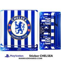 Playstation 4 Console and Controller Skin Sticker CHELSEA برچسب پلی استیشن ۴ طرح چلسی