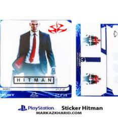 Playstation 4 Console and Controller Skin Sticker Hitman برچسب پلی استیشن ۴ طرح هیتمن