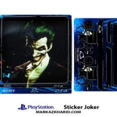 Playstation 4 Console and Controller Skin Sticker Joker برچسب پلی استیشن ۴ طرح جوکر