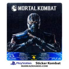 Playstation 4 Console and Controller Skin Sticker Kombat برچسب پلی استیشن ۴ طرح کمبت