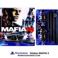 Playstation 4 Console and Controller Skin Sticker Mafia 3 برچسب پلی استیشن ۴ طرح مافیا ۳