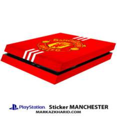 Playstation 4 Console and Controller Skin Sticker Manchester United برچسب پلی استیشن ۴ طرح منچستر یونایتد