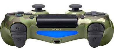 دسته بازی پلی استیشن ۴ چریک سبز Playstation 4 DualShock 4 Wireless Controller Green Camouflage