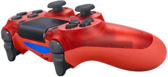 دسته بازی پلی استیشن ۴ قرمز کریستالی Playstation 4 DualShock 4 Wireless Controller Crystal Red