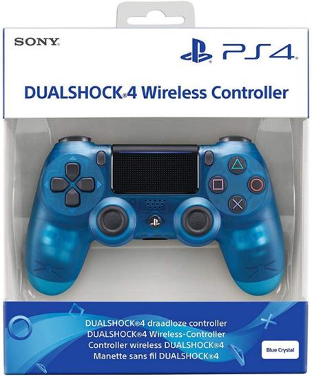 دسته بازی پلی استیشن ۴ آبی کریستالی Playstation 4 DualShock 4 Wireless Controller Crystal Blue