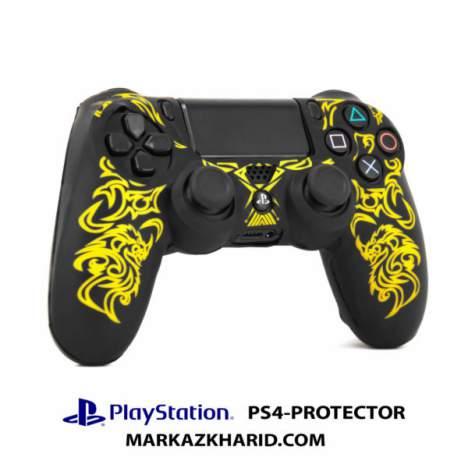 محافظ دسته پلی استیشن طرح زرد مورتال PlayStation 4 Dualshock 4 Controller Protector