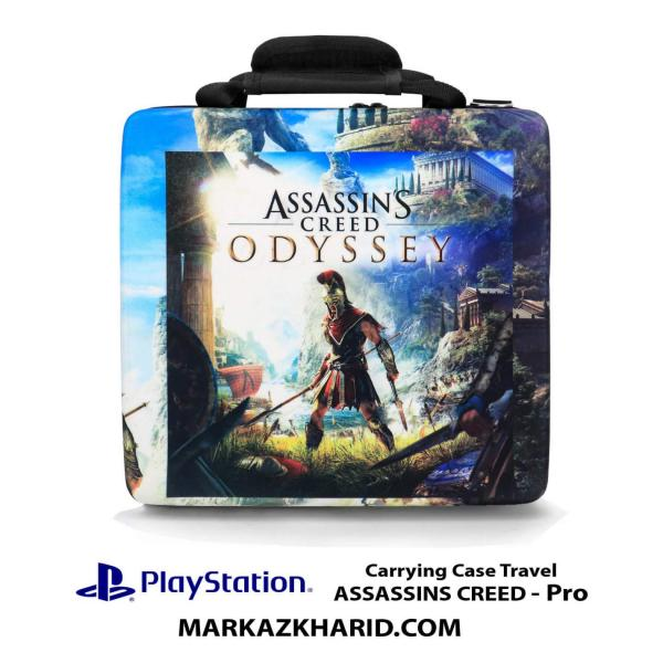 کیف ضدضربه PlayStation 4 PRO Hard Case Travel Bag ASSASSINS