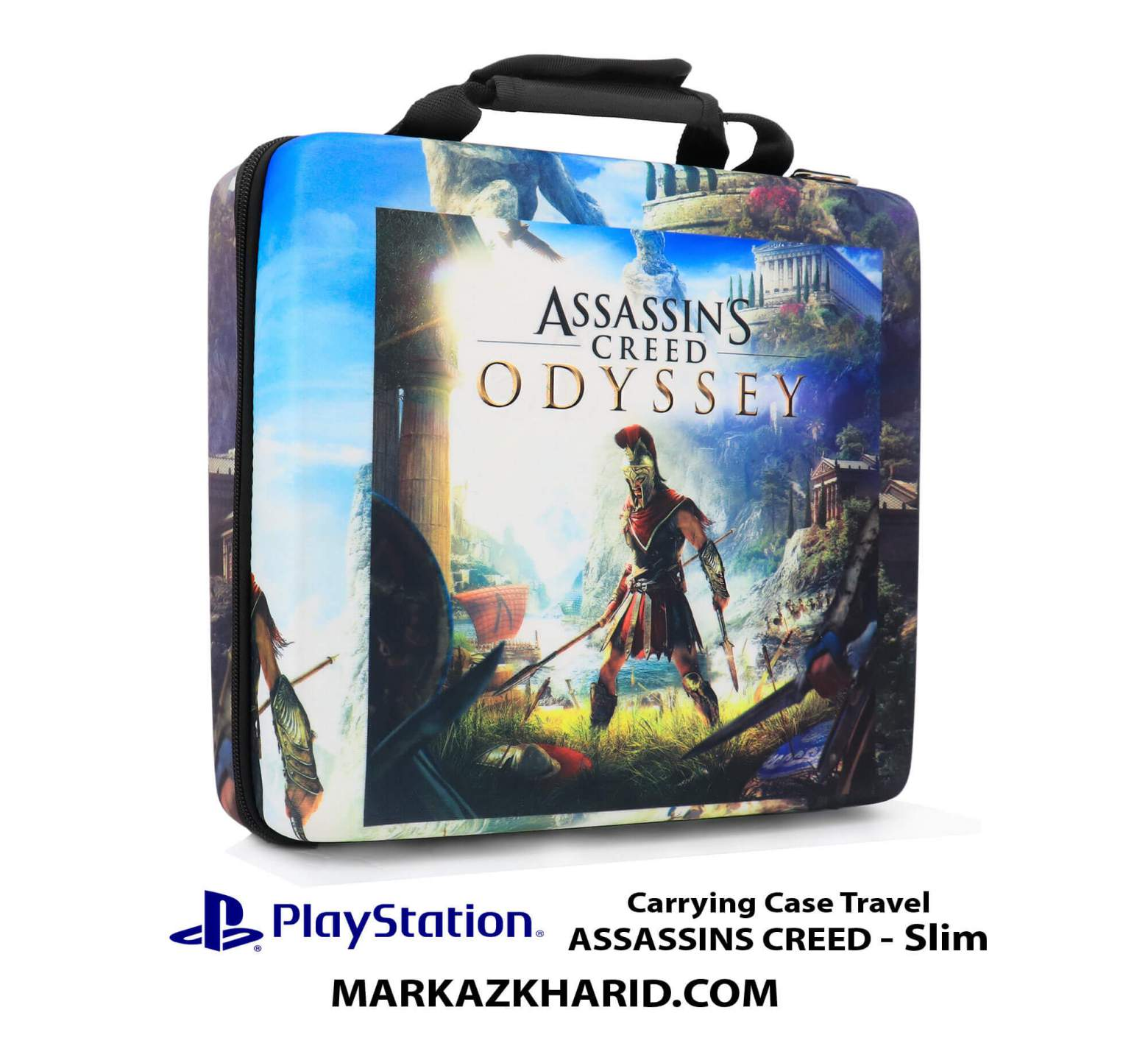 کیف ضدضربه پلی استیشن ۴ PlayStation 4 Slim Hard Case Travel Bag ASSASSINS