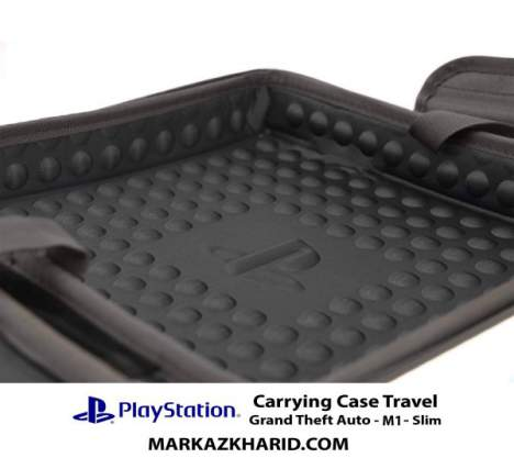 کیف پلی استیشن ۴ PlayStation 4 Slim Hard Case Travel Bag Grand Theft Auto 4