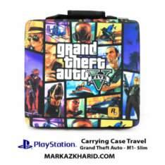 کیف پلی استیشن ۴ PlayStation 4 Slim Hard Case Travel Bag Grand Theft Auto 4